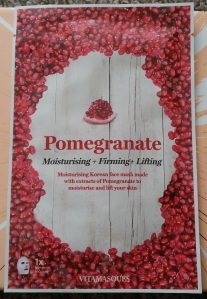 Vitamasques Pomegrade Sheet Mask