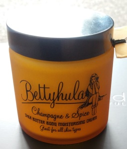 Betty Hula Body Moisturizer Champagne and Spice Scent