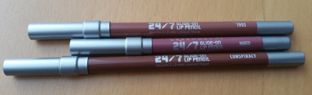 Urban decay other lipliner colours and naked