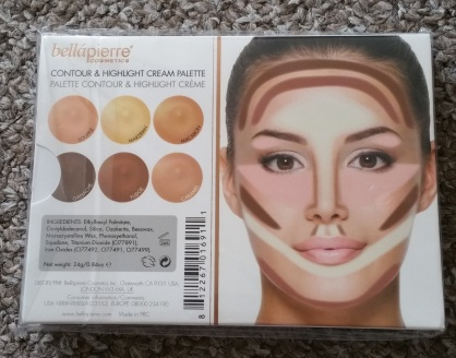 Bellapierre Contour & Highlight Cream Palette 2