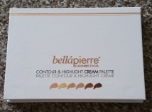 Bellapierre Contour & Highlight Cream Palette 3