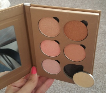 Bellapierre Glowing Palette 6
