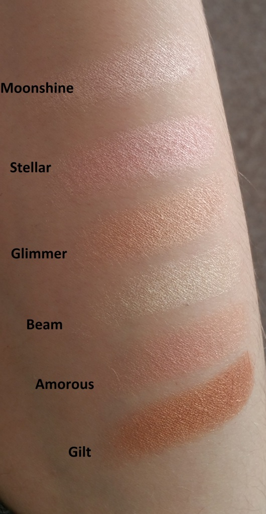 Bellapierre Glowing Palette 7