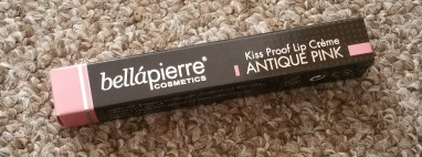 Bellapierre Kiss Proof Lip Creme Antique Pink