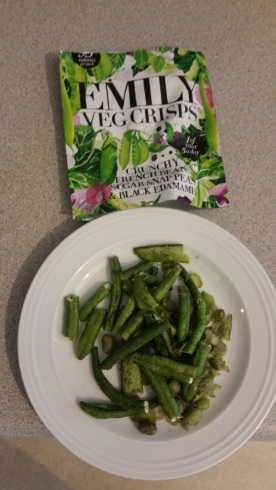 Emily Veg Crisps Crunchy Fresh Beans Sugar Snap Peas and Black Edamame 3