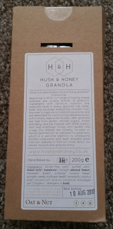 Husk & Honey Oat and Nut Granola 2