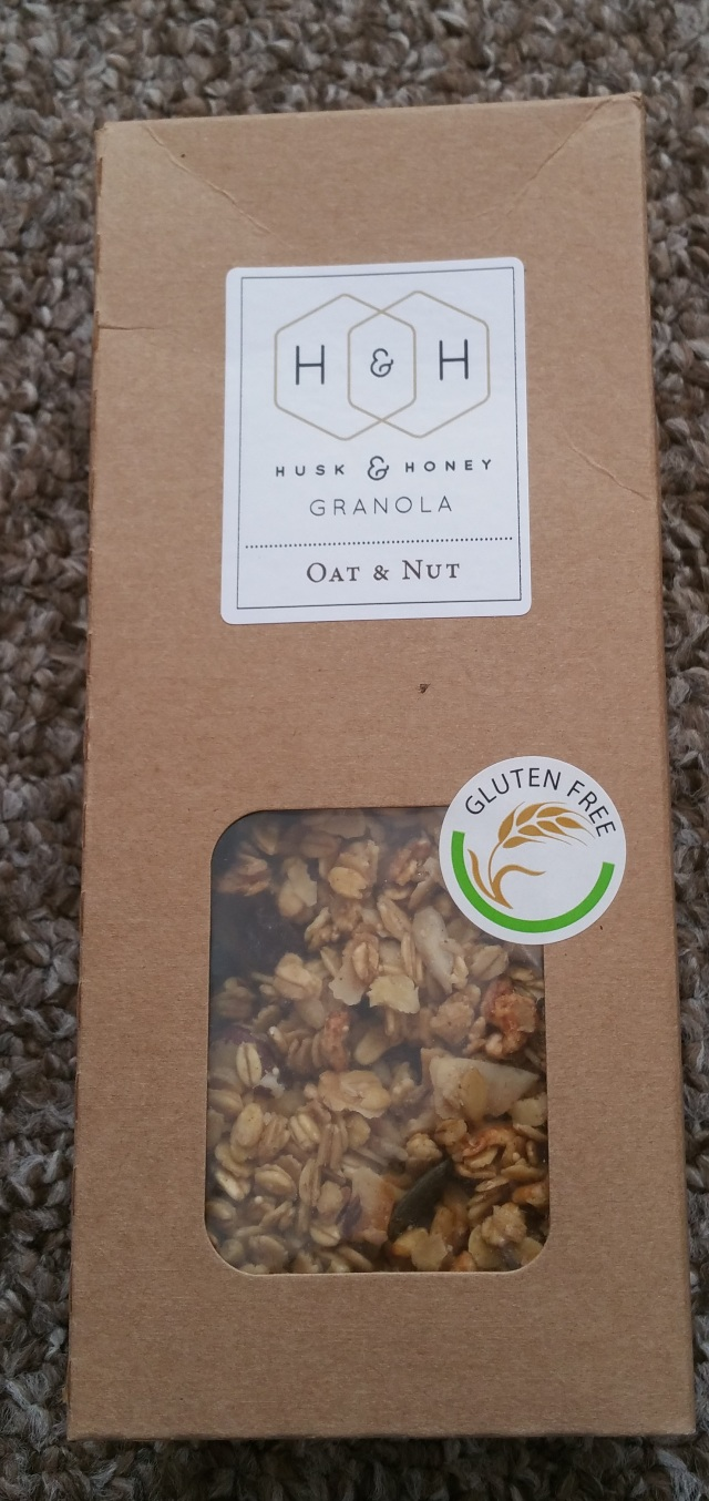 Husk & Honey Oat and Nut Granola