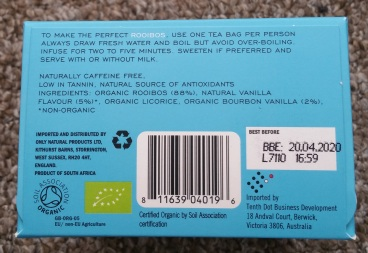 Kromland Farm Rooibos Tea Vanilla 3