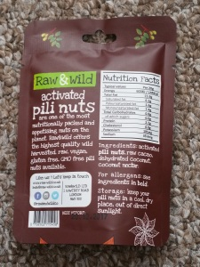 Raw & Wild Activated Pili Nuts Chocolate and Coconut 2