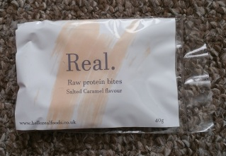 Real Raw Protein Bites Salted Caramel Flavour