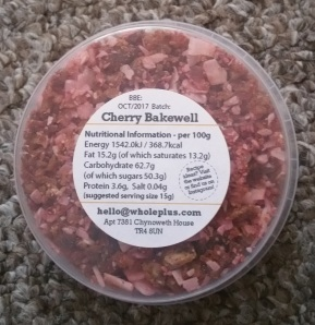 Whole Plus Toppers Cherry Bakewell 2