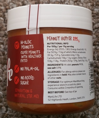 ManiLife Deep Roast Peanut Butter 3