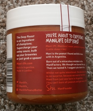 ManiLife Deep Roast Peanut Butter 4