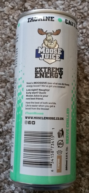 Moose Juice Extreme Energy Mojito Flavour 3
