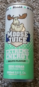 Moose Juice Extreme Energy Mojito Flavour