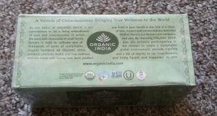 Organic India Tulsi Original Stress Relieving & Boost Immunity Tea 4