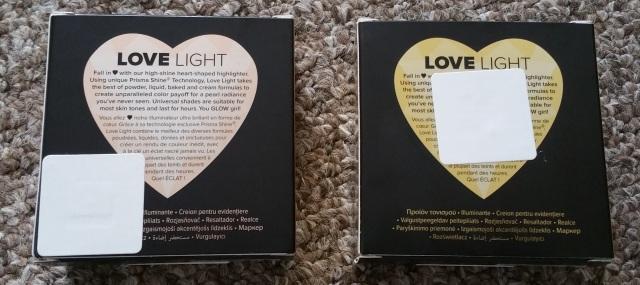 Too Faced Love Light Highlighters 3
