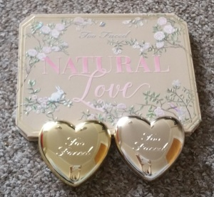 Too Faced Natural love and highlighters