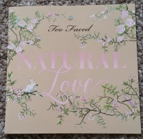 Too Faced Natural love outer packaging 5