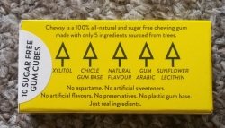 Chewsy All Natural Chewing Gum 2