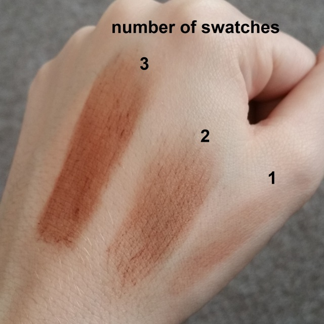 Illamasqua Mini Contour Gel Sculpt in Silouette swatches