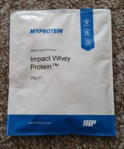 MyProtein Impact Whey Protein Powder Maple Syrup Flavour