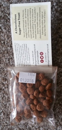 The Tiger Nut Company Organic Cacao Dusted Tiger Nuts 3