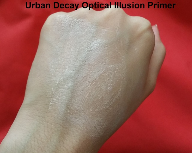 Urban Decay Optical Illusion Primer Swatch 2