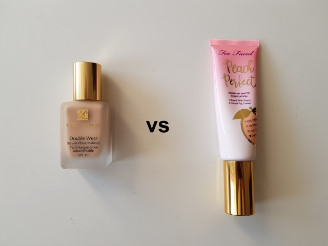 Estee Lauder Double Wear vs Too Faced Peach Perfect Foundation 3.jpg