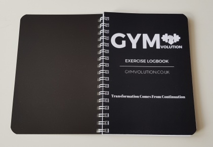 Gym Volution Exercise Notebook 2