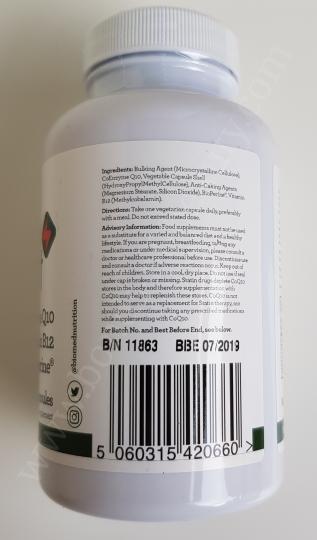 Biomed Energysmart CoQ10 100mg with Vitamin B12 100mcg and BioPerine 5mg 2_20171130014657159