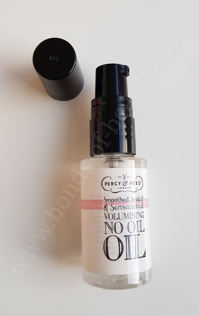 Percy and Reed Smoothed Sealed and Sensational Volumising No Oil Oil 2_20171111164952781