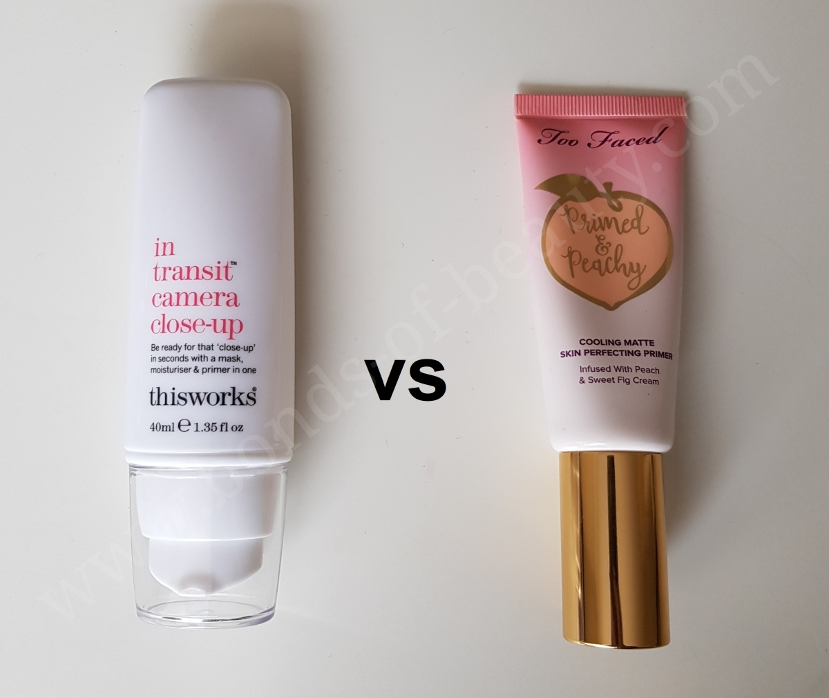 Primed & Peachy Cooling Matte Perfecting Primer by Too Faced #13