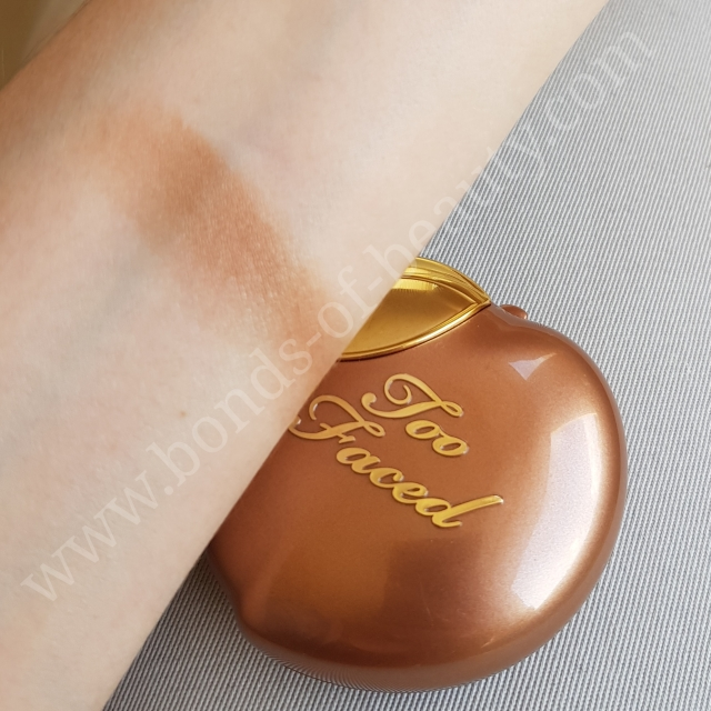 Too Faced Bronzed Peach Swatch _20171101205024745