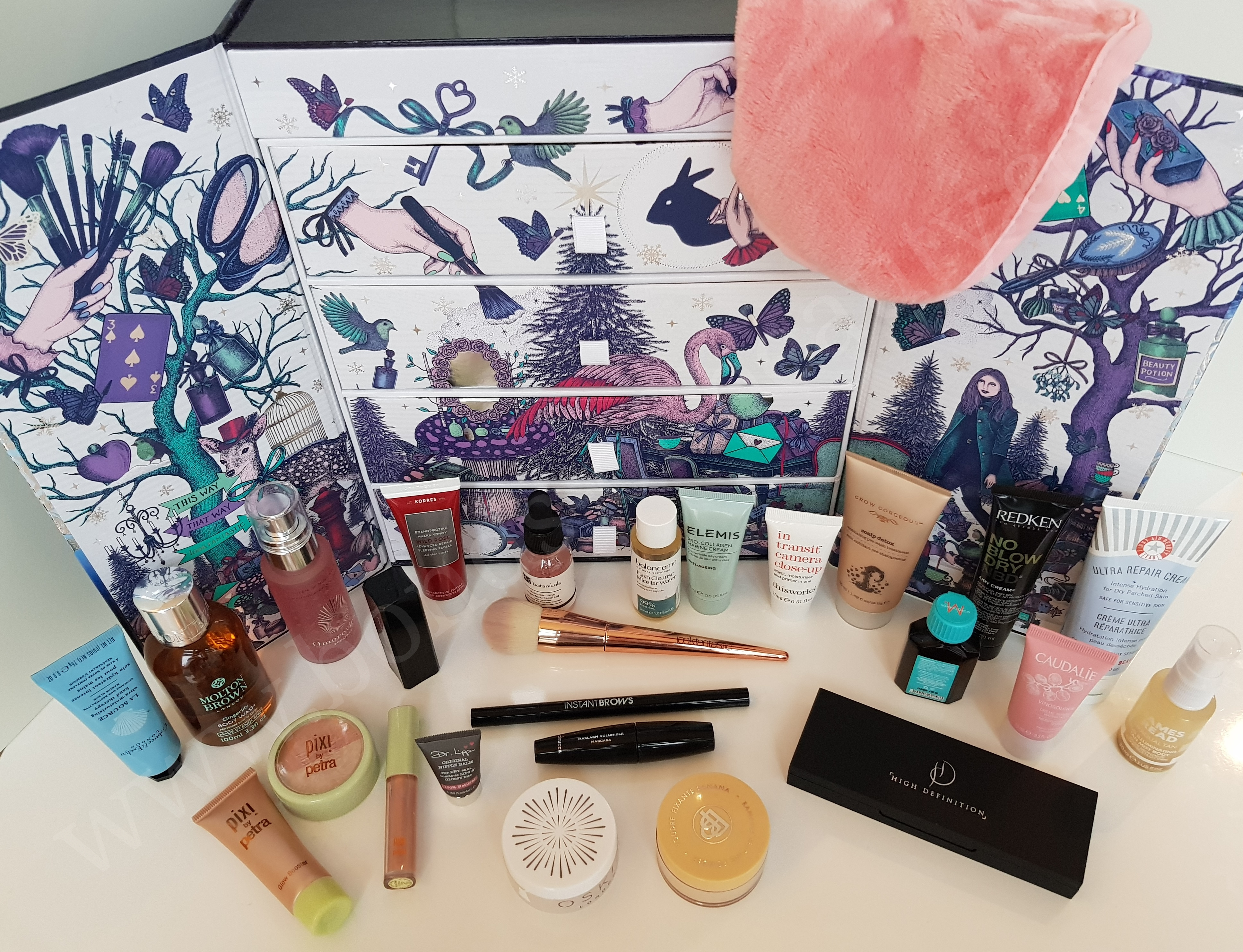 look fantastic beauty advent calendar 2017  u2013 unboxing and