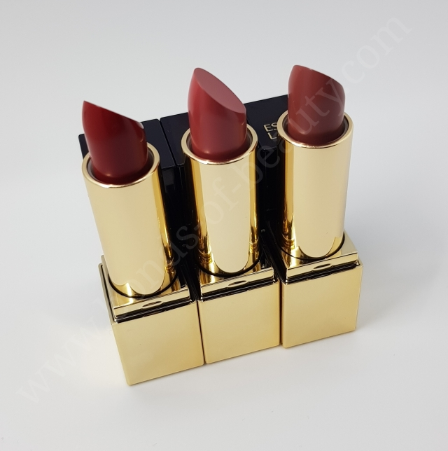 Estèe Lauder 3 Pure Color Envy Lipsticks in shades Dynamic, Intense Nude, Vengeful Red_20180107201558011