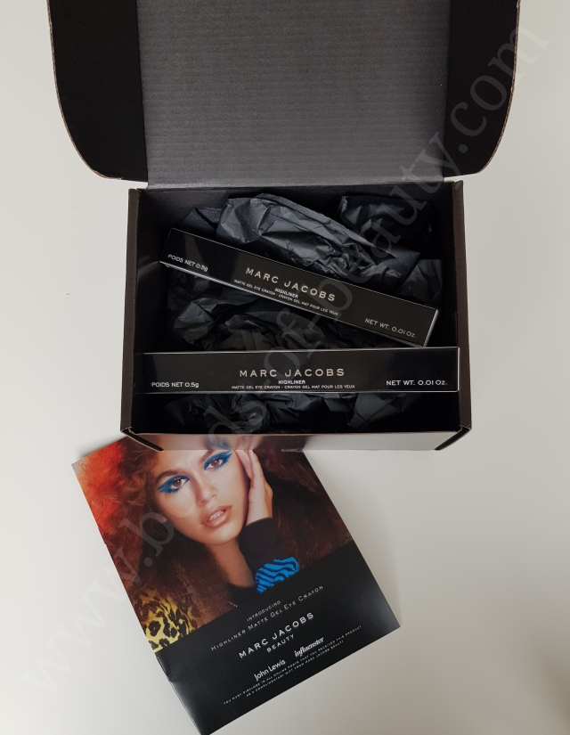 Marc Jacobs Beauty Influenster Vox Box Highliners 2_20180120204713489
