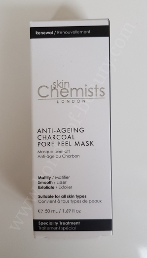 Skin Chemist Anti Ageing Charcoal Pore Peel Mask 3_20180127183207642