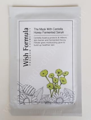Wish Formula The Mask With Centella Honey Fermented Serum_20180127182947169