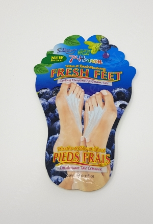 7th Heaven Fresh Feet Cooling Deodorising Cream Talc in Mint & Iced Blueberry_20180318221559011