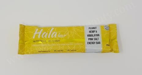 Hala Bar Energy Bar in Flavour Peanut Hemp & Himalayan Pink Salt_20180321221324882