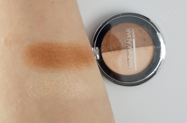 Manna Kadar Cosmetics Radiance Split Pan Bronzer And Highlighter Duo_20180311213117833