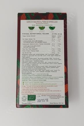 Primrose_s Kitchen Organic Granola Courgette & Cacao Granola 2_20180321221749540