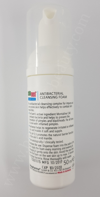 Sebamed Clear Face Antibacterial Cleansing Foam 2_20180311204954417