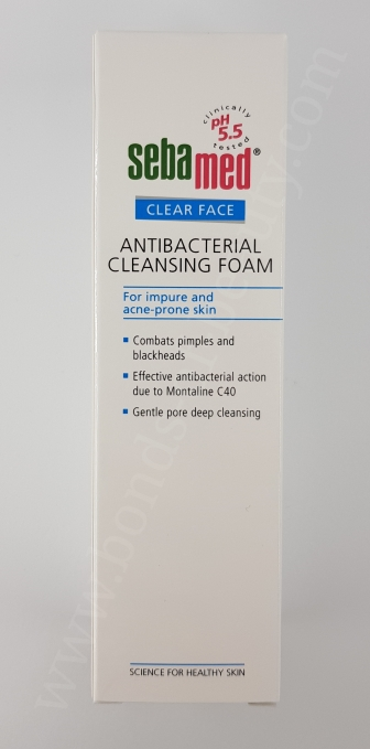 Sebamed Clear Face Antibacterial Cleansing Foam 3_20180311205013488