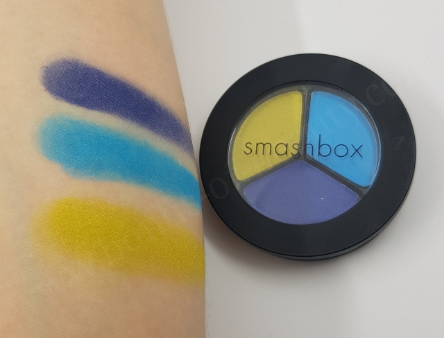 Smashbox Trio Eye Shadow in Colours Lime Tropical and Cobalt 4_20180318221437543