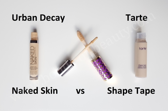 Battle of concealers UD vs Tarte 2_20180401220944653
