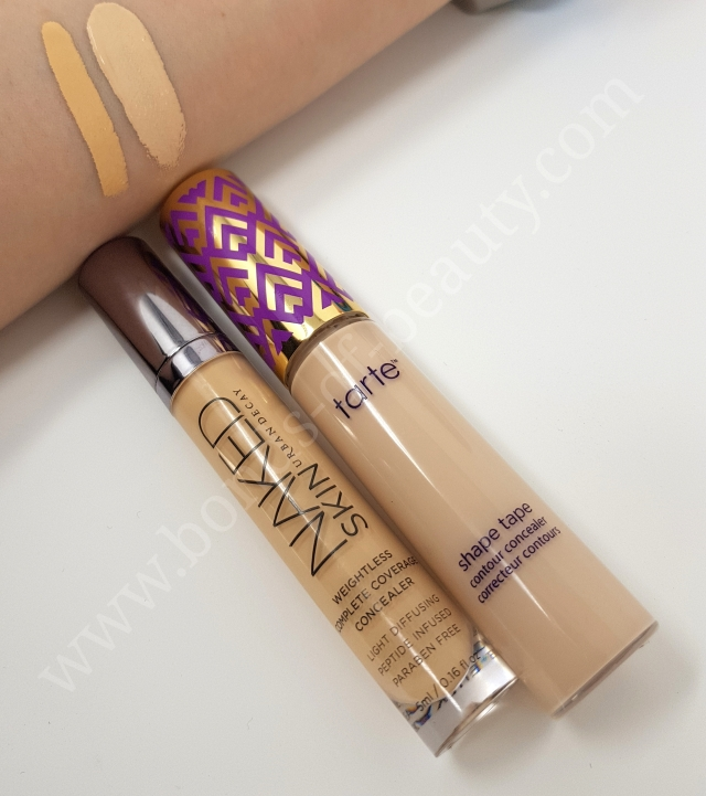 Battle of concealers UD vs Tarte 5_20180401221048762