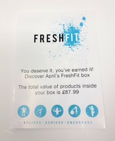FreshFit Fitness Box April 2018 4_20180507134023778