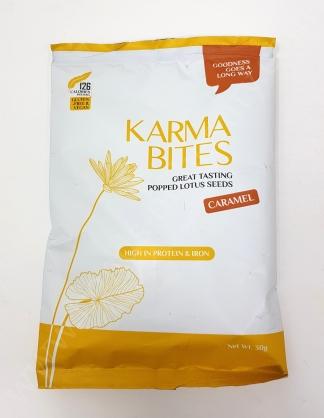 Karma Bites Popped Lotus Seeds in Caramel Flavour_20180820113401070